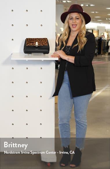 Mini Canann Leopard Padlock Crossbody Bag, sales video thumbnail