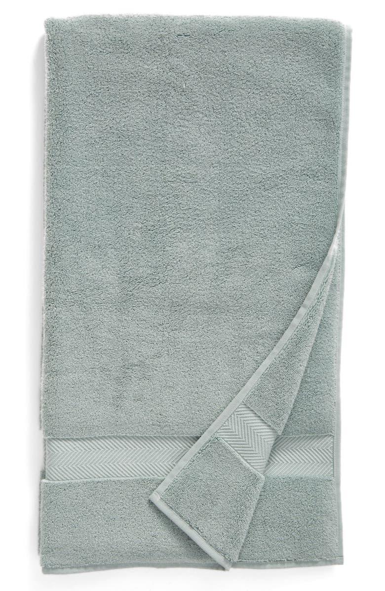NORDSTROM Hydrocotton Bath Towel, Main, color, TEAL MIST