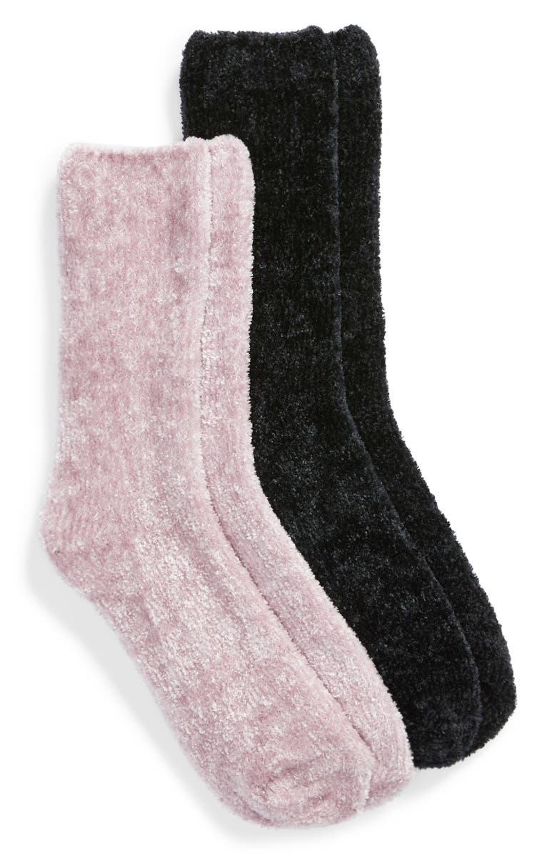BP. 2-Pack Chenille Socks, Main, color, 500
