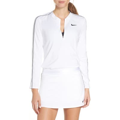 Nike Court Dri-Fit Quarter Zip Top