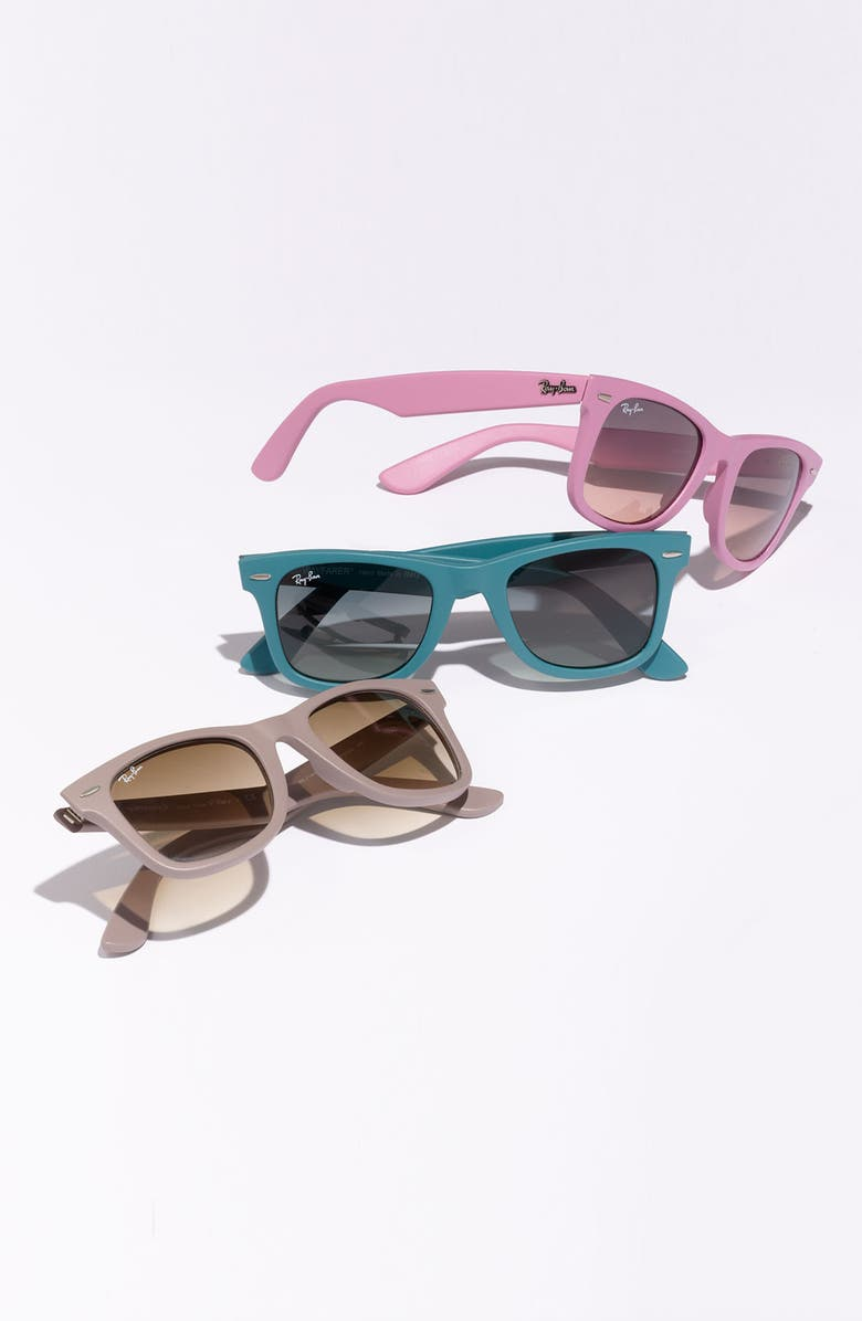 RAY-BAN 'Classic Wayfarer' 50mm Sunglasses, Main, color, 007