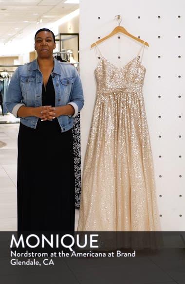 Ombré Sequin Gown, sales video thumbnail