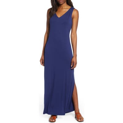 Tommy Bahama Tambour Maxi Dress, Blue