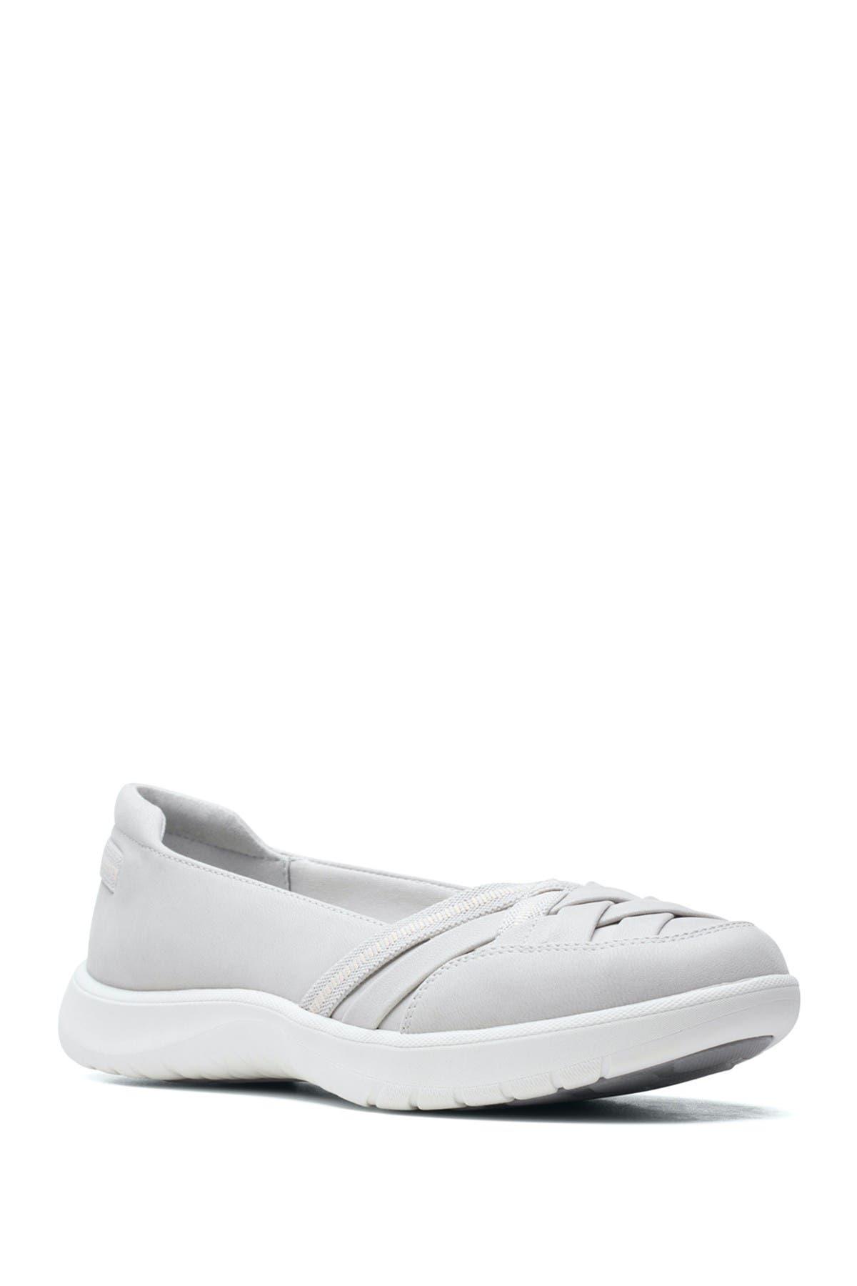 Image of Clarks Adella Poppy Slip-On Sneaker - Wide Width Available