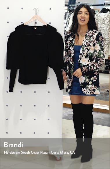 Juliet Sleeve Cashmere Wrap Sweater, sales video thumbnail