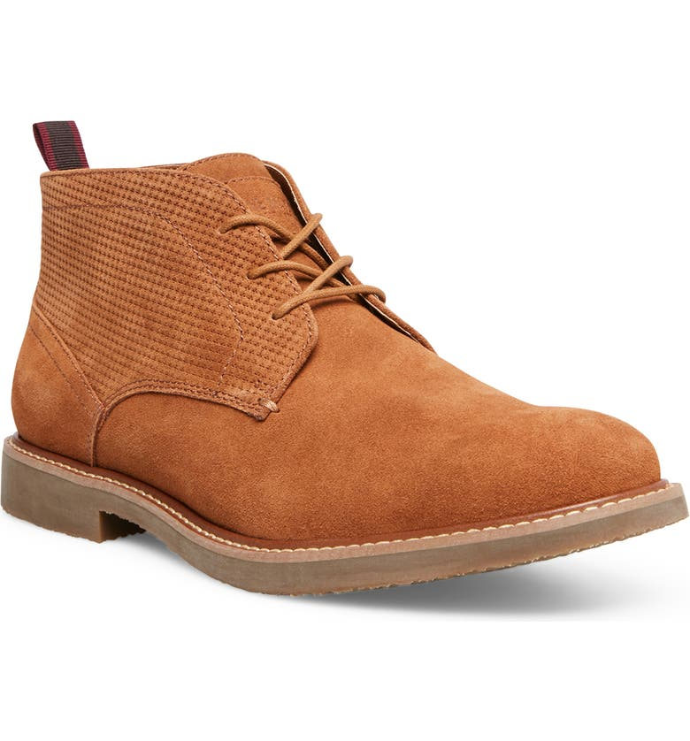 STEVE MADDEN Hardenn Chukka Boot, Main, color, CAMEL SUEDE