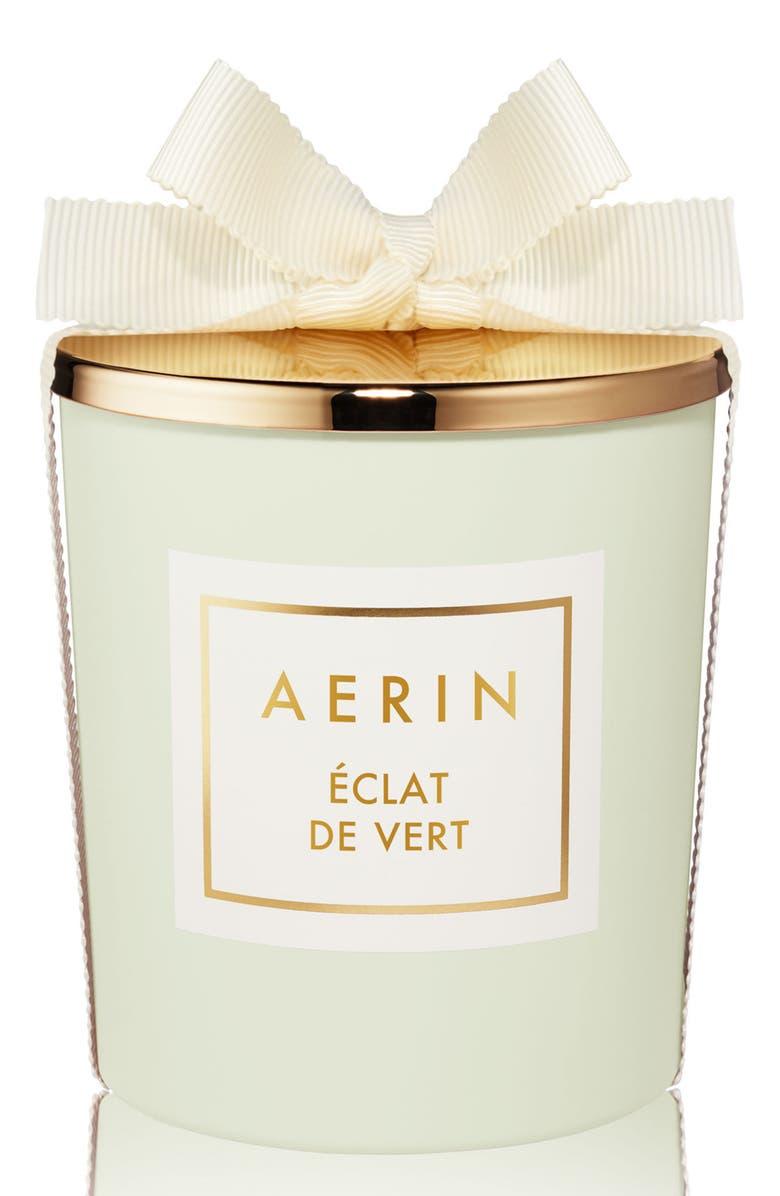 ESTÉE LAUDER AERIN Beauty Éclat de Vert Candle, Main, color, NO COLOR