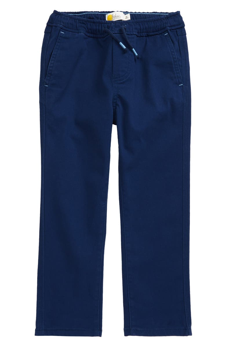 MINI BODEN Relaxed Slim Fit Pull-On Trousers, Main, color, 414