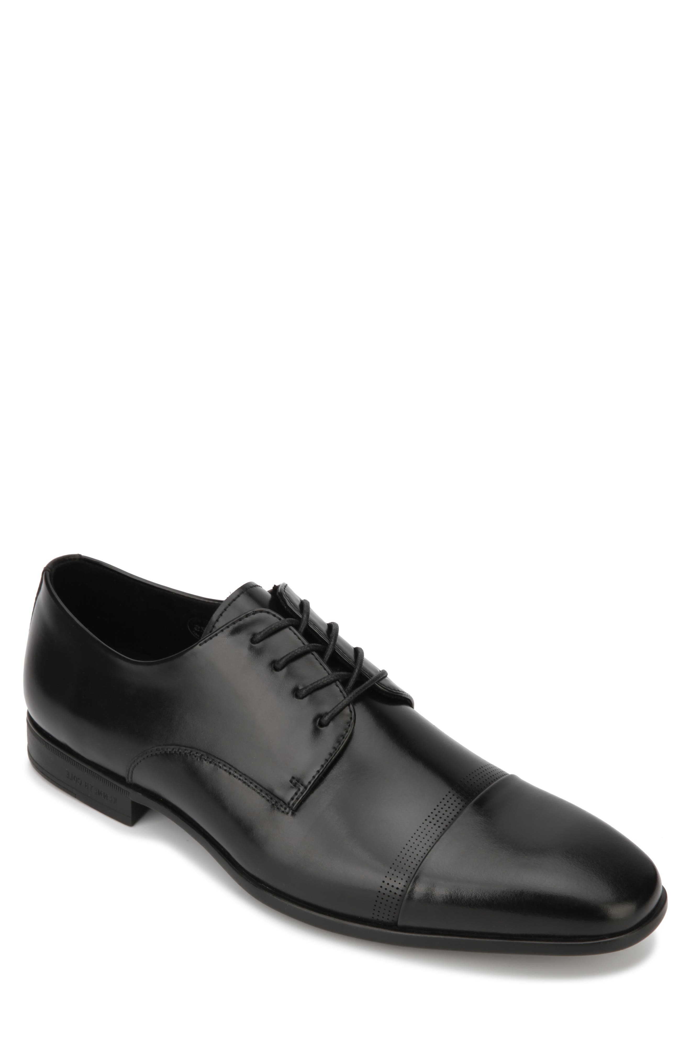 Image of Kenneth Cole New York Regal Cap Toe Leather Derby