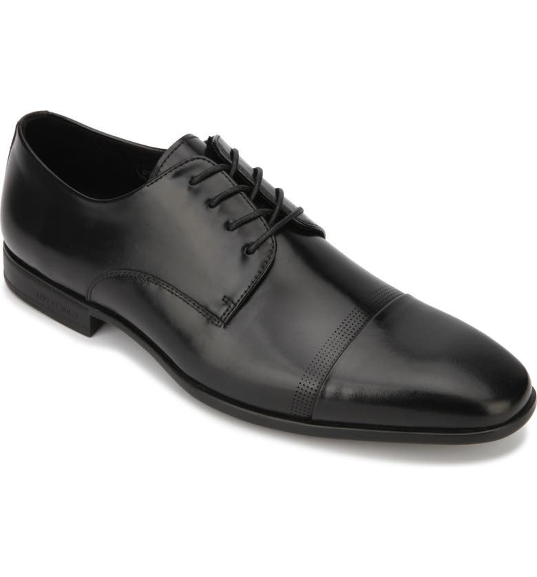 KENNETH COLE NEW YORK Regal Cap Toe Derby, Main, color, 001