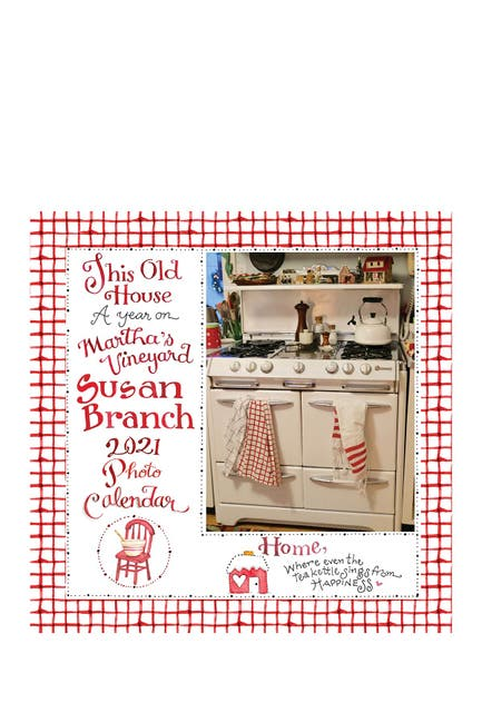 Image of TF Publishing 2021 Susan Branch (A Year on Martha's Vineyard) Wall Calendar
