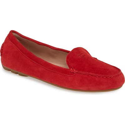 Taryn Rose Kristine Loafer- Red