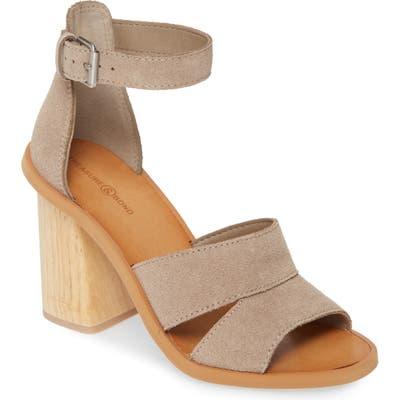 Treasure & Bond Audrey Ankle Strap Sandal, Grey