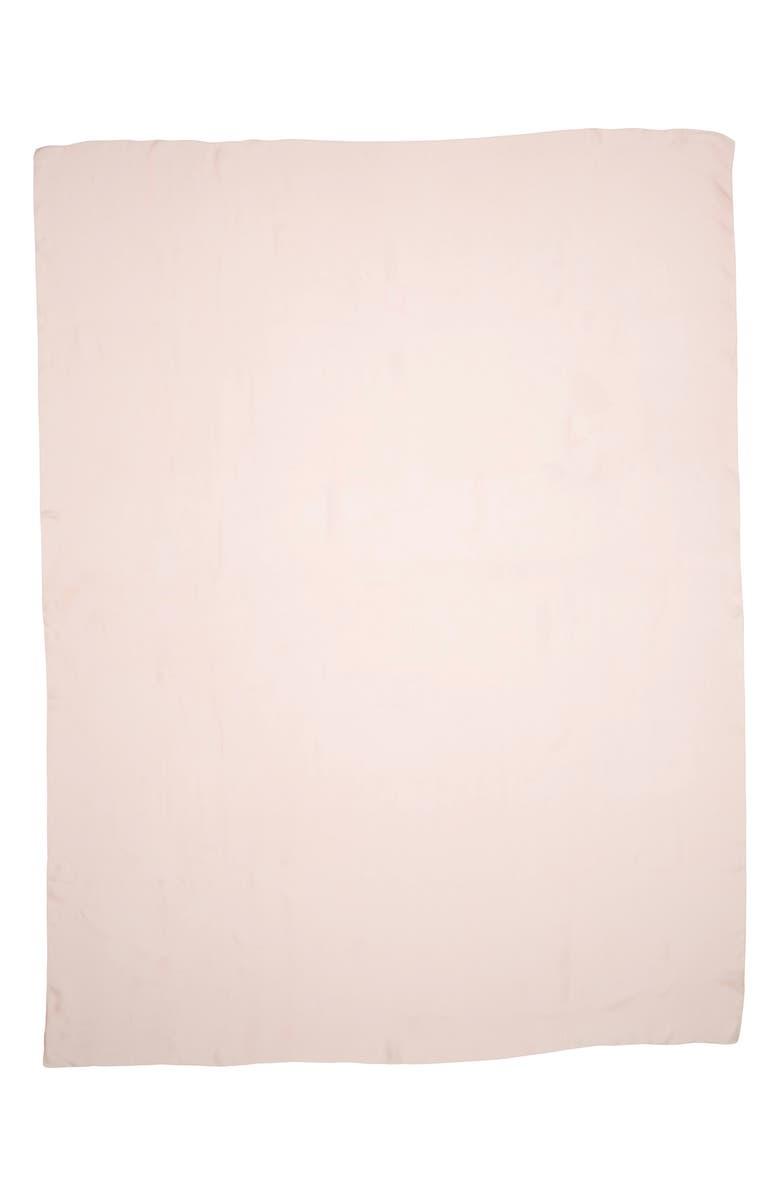 MAX MARA Rivera2 Oblong Silk Scarf, Main, color, PINK