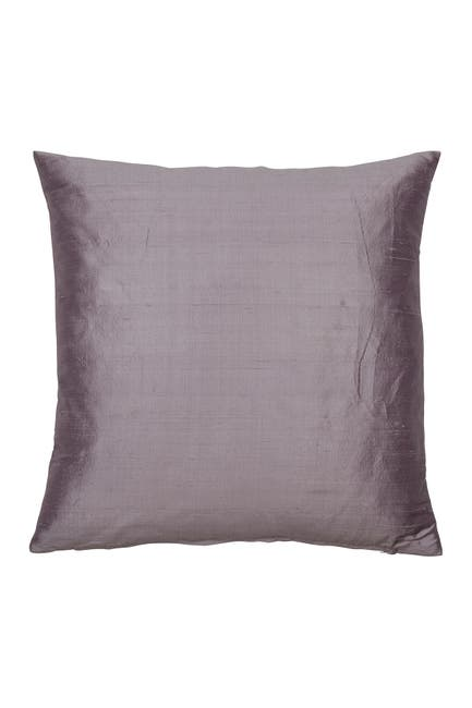 "Image of EIGHTMOOD Dusty Lilac Dupion Cushion - 20"" x 20"""