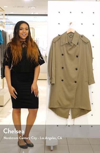 Lia Mac Trench Coat, sales video thumbnail
