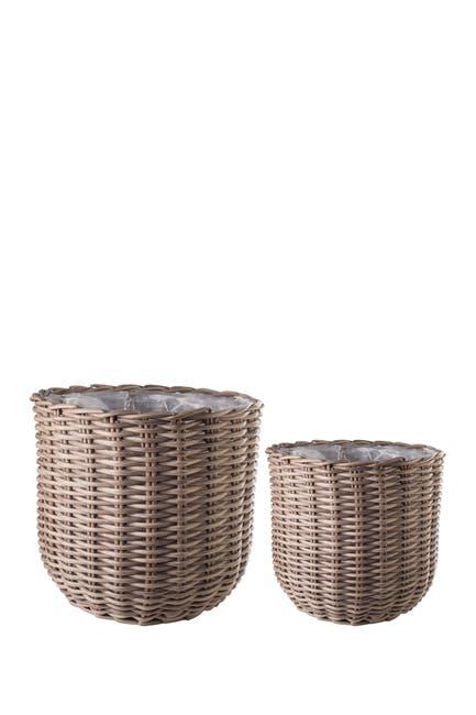 Image of Home Essentials and Beyond Polyrat Baskt Plast Lining - Set of 2