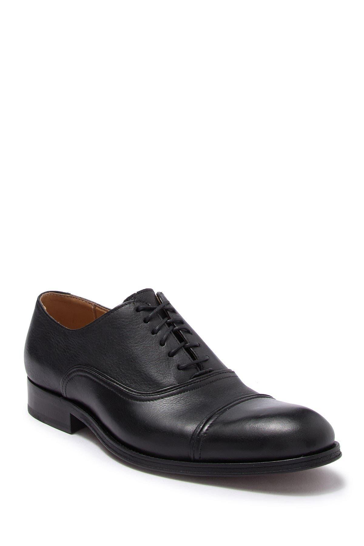 Image of Donald Pliner Garee Leather Cap Toe Oxford