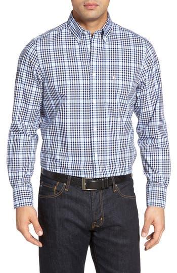 Nordstrom Men's Shop Smartcare™ Classic Fit Plaid Sport Shirt (Tall)