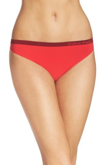 Calvin Klein 'Pure' Seamless Thong