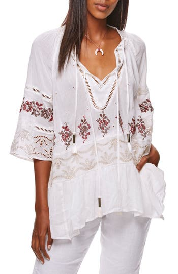 Free People You're Mine Peasant Tunic