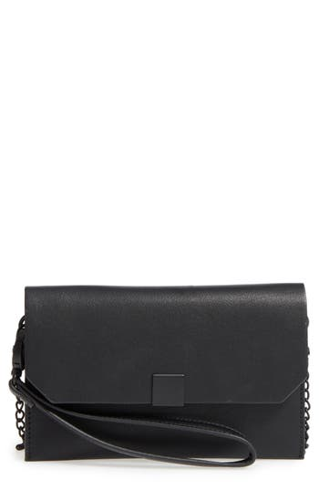 Phase 3 Faux Leather Wristlet