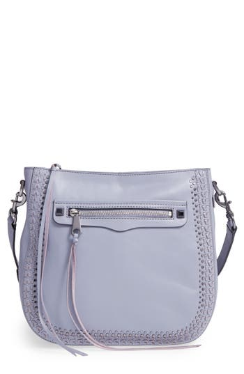 Rebecca Minkoff Regan Feed Studded Leather Crossbody