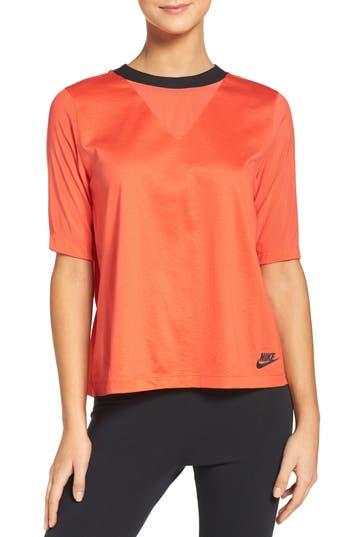 Nike Pleated Back Top