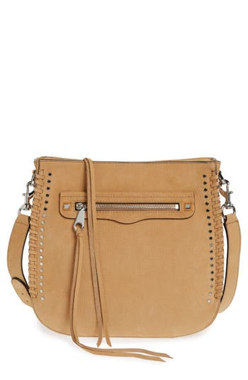 Rebecca Minkoff 'Regan Feed' Studded Bag (Nordstrom Exclusive)