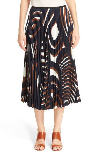 Lafayette 148 New York Dorothy Pleated Skirt