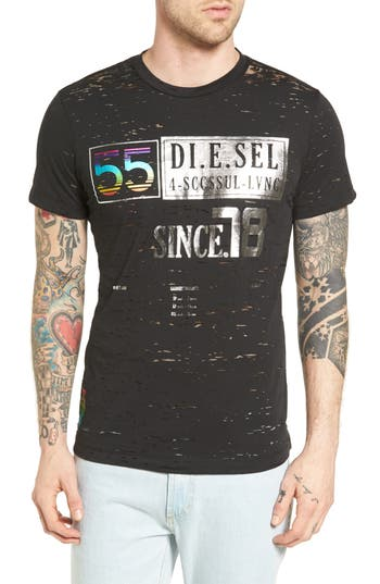DIESEL® T-Diego NX Print T-Shirt