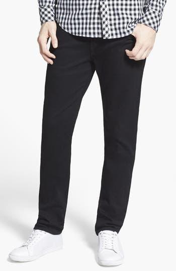 True Religion Brand Jeans 'Rocco' Slim Fit Jeans (Midnight Black)