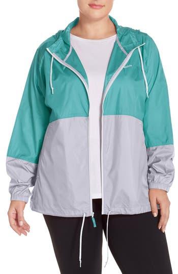 Columbia 'Flash Forward™' Windbreaker Jacket (Plus Size)