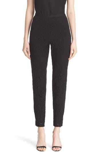 St. John Collection Emma Lace Crop Pants