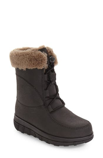 FitFlop™ Loaff Waterproof Genuine Shearling Boot (Women)