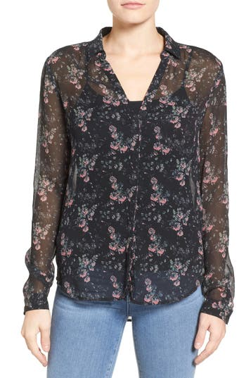 PAIGE Everleigh Silk Shirt