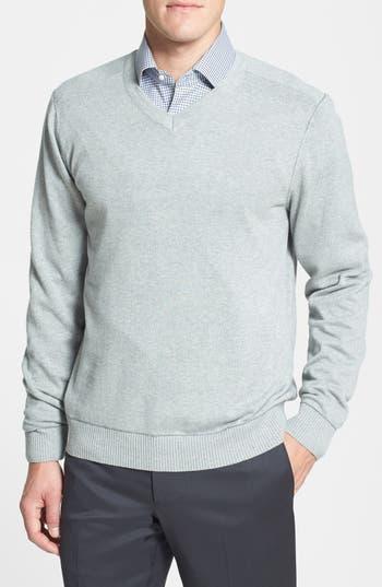 Cutter & Buck 'Broadview' Cotton V-Neck Sweater