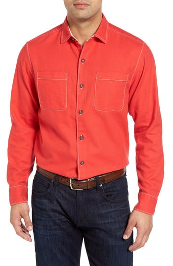 Tommy Bahama Sea Glass Original Fit Flannel Shirt