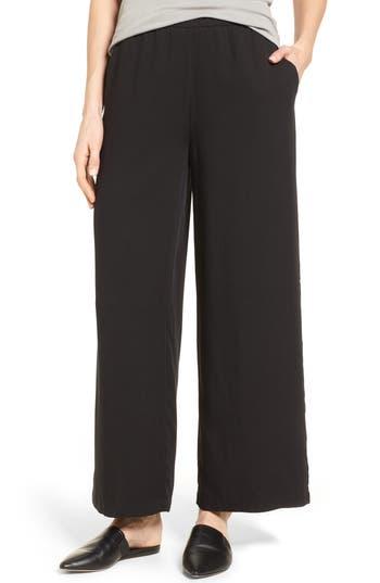 Eileen Fisher Wide Leg Tencel® Pants (Regular & Petite)