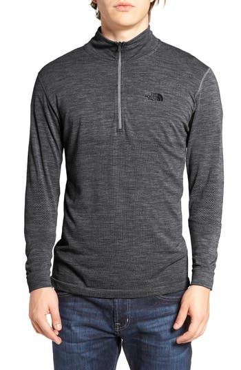 The North Face Merino Wool Blend Quarter Zip Pullover