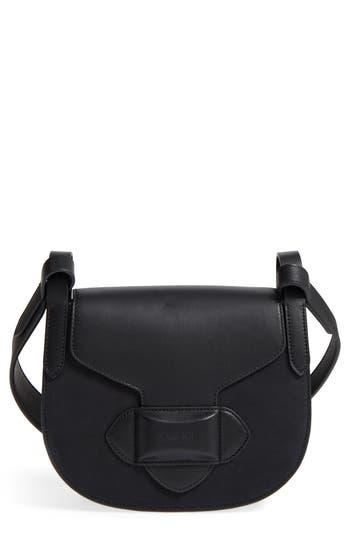 Michael Kors Small Daria Leather Crossbody Bag