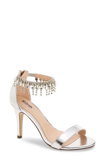 pink paradox london Tamara Crystal Ankle Strap Sandal (Women)