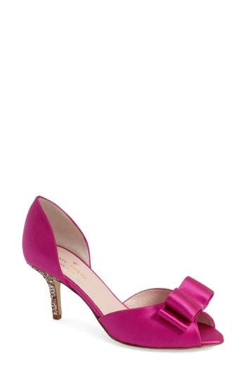 kate spade new york 'sela' glitter heel d'orsay pump (Women)