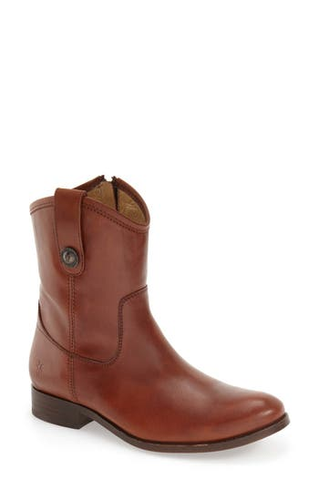 Frye 'Melissa Button' Short Boot (Women)