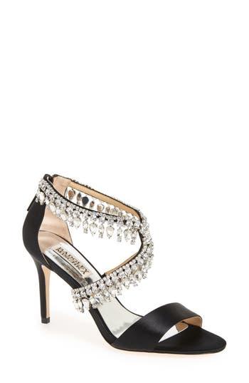 Badgley Mischka Crystal-Embellished Sandal (Women)