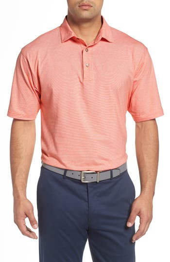 Bobby Jones 'Liquid Cotton Skyline' Stripe Jersey Golf Polo