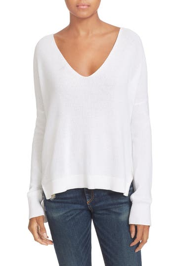 rag & bone/JEAN Taylor Washed Cotton Sweater