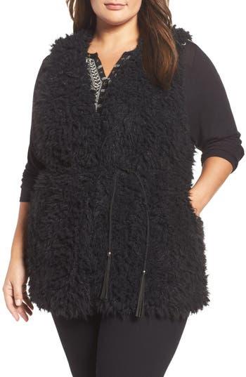 Tart Gabriel Faux Fur Vest (Plus Size)