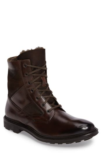To Boot New York Tobias Genuine Shearling Lined Boot (Men)