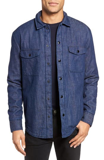 Bonobos Slim Fit Lined Denim Shirt Jacket